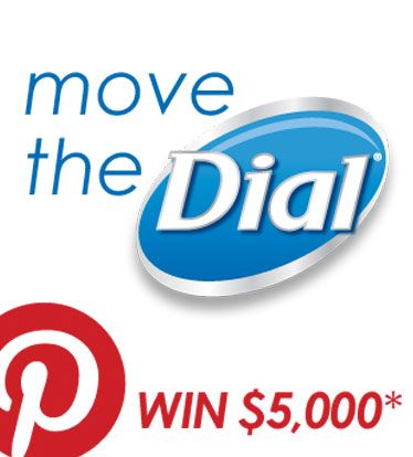 """Be sure to repin this """"Move the Dial"""" logo as your cover photo before you submit your board at facebook.com/dial. *Winner's charitable cause will receive a $5,000 donation. Must meet eligibility requirements. See official rules at www.facebook.com/dial #movethedial"""