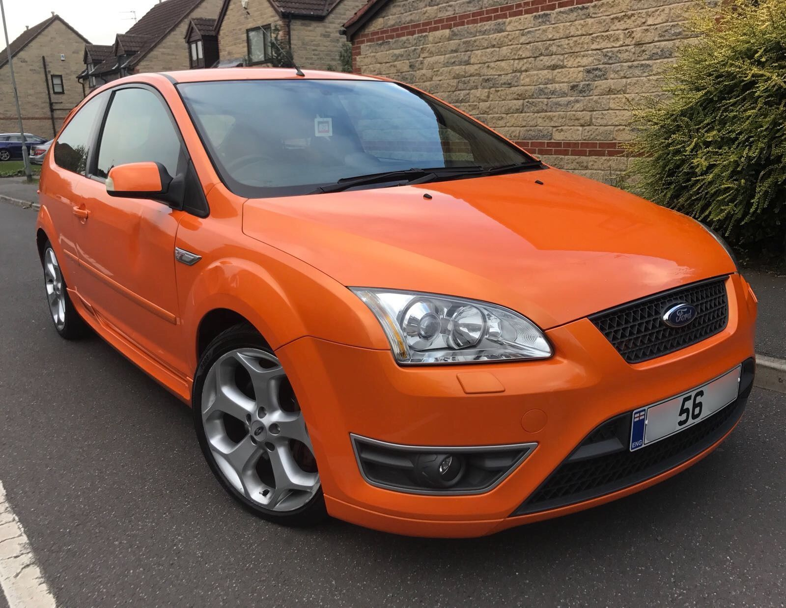Check Out This Fast Ford 2006 56 Reg Ford Focus 2 5 St2 Orange