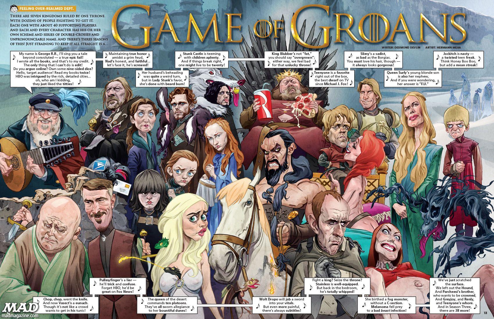 Parodie Von Game Of Thrones