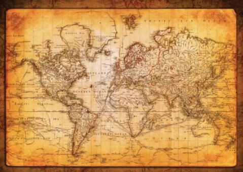 Pin by stephen reichert on office pinterest this is too small but i love that it has the paths of explorers voyages on it gumiabroncs Image collections