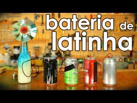 Bateria De Latinha De Aluminio Experiencia De Quimica