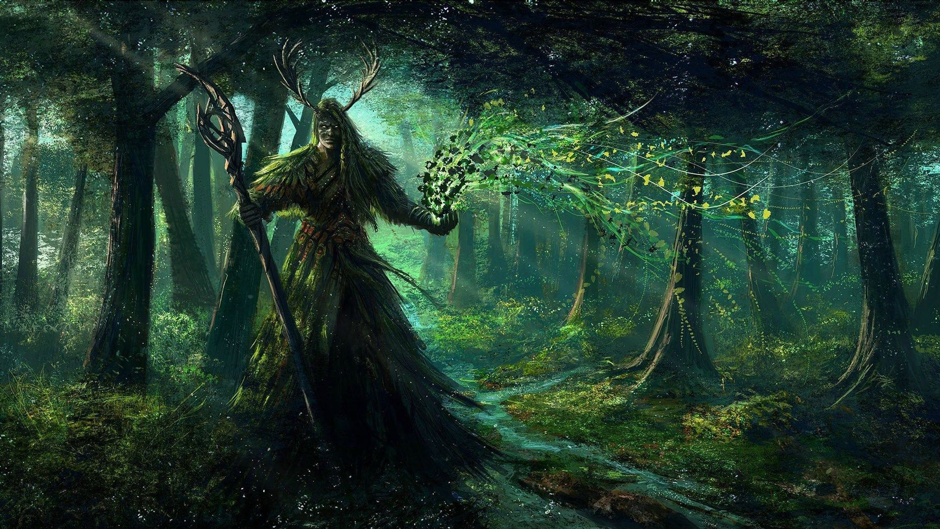 Druid Picture For Desktops Druid Category Fantasy Art Druid Hd Wallpaper