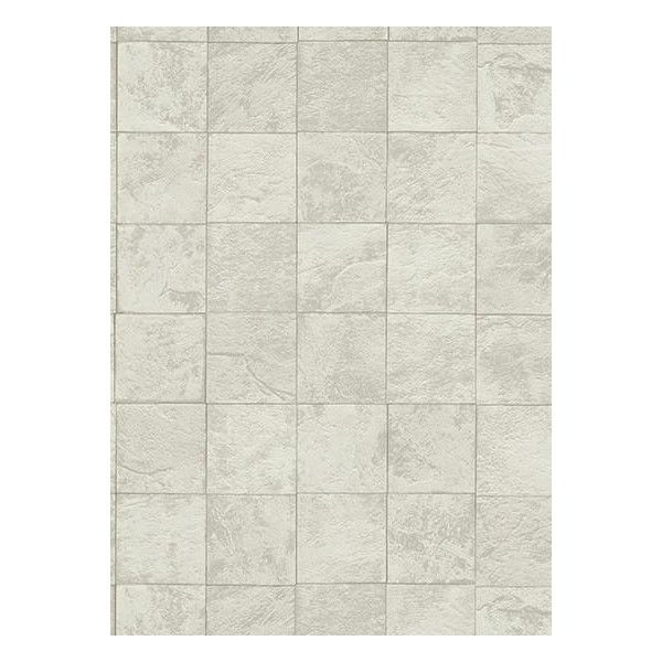 Tile Wallpaper In Light Grey And Ivory Design By Bd Wall Liked On Polyvore Featuring Home