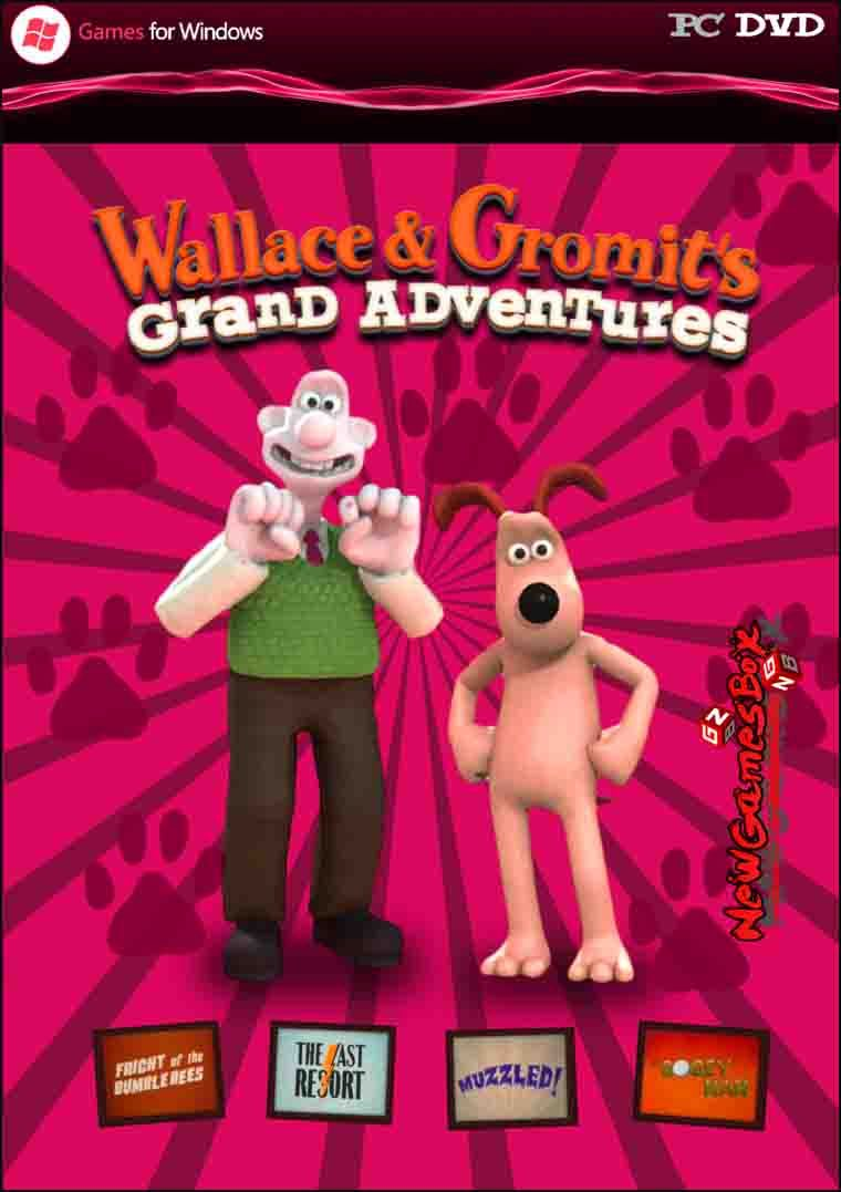 Wallace & Gromit's Grand Adventures PC Game Free Download