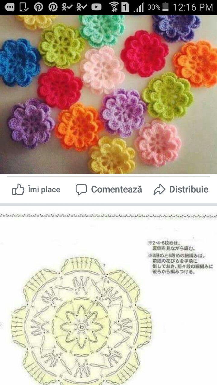 Pin by paqui lopez serna on patrones de ganchillo 1 | Pinterest ...