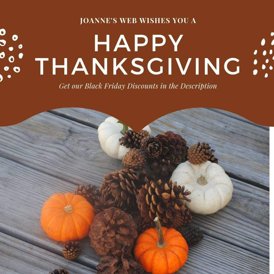 Happy thanksgiving to our friends we thank you for being