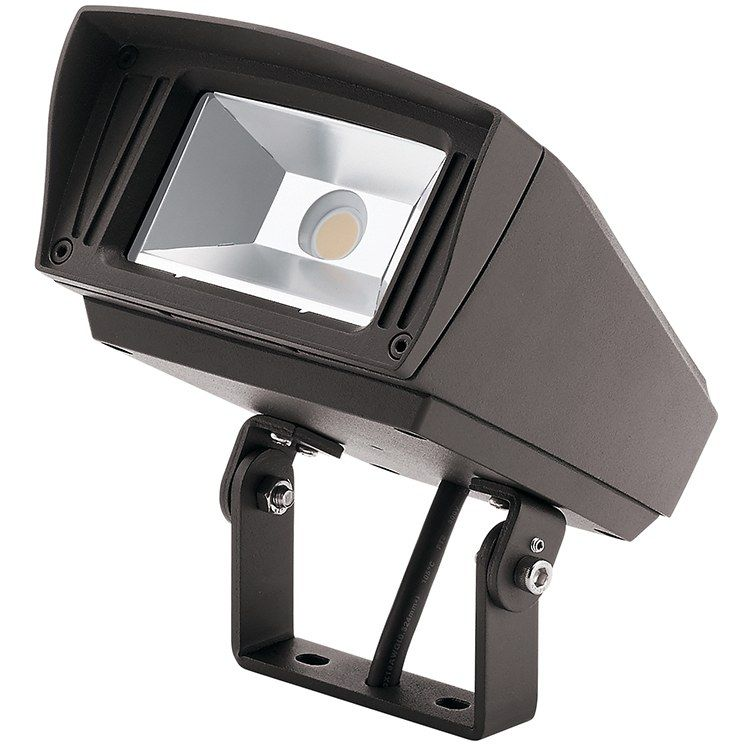 Kichler 16222azt30tr C Series Single Light Led 6x5 Landscape Flood Light 2000 Lumen 3000k Led Flood Lights Outdoor Flood Lights Outdoor Lighting Landscape