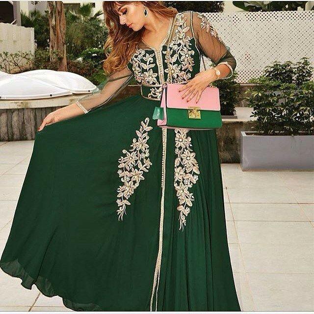 Caftan Mariage 2018 Robes Mariées A Ne Pas Rater - Caftan Marocain de Luxe  2018   Boutique Vente Caftan Pas Cher d996d396729