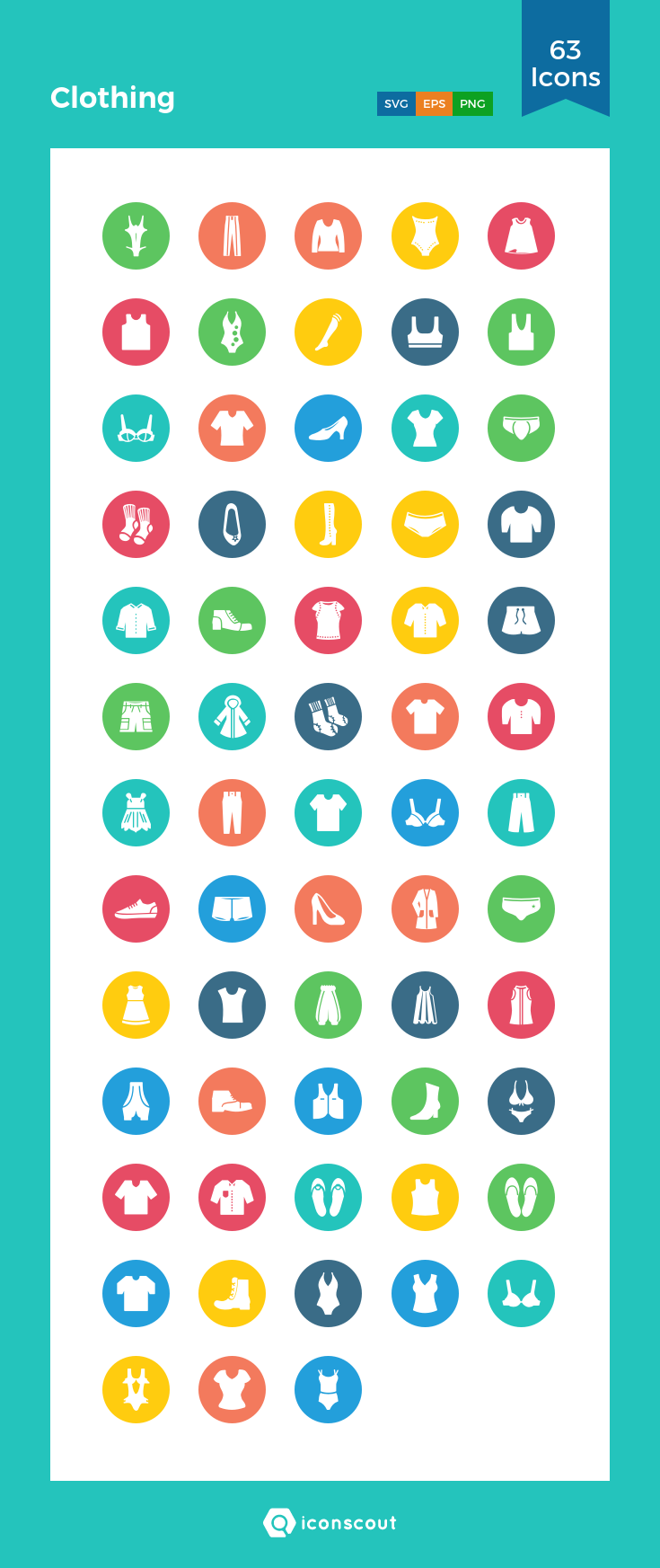 Download Clothing Icon Pack Available In Svg Png Eps Ai Icon Fonts With Images Icon Pack Flat Icon Restaurant Icon