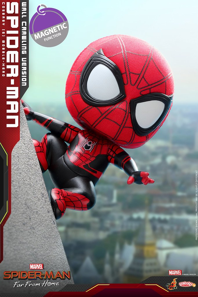 最可愛的好鄰居 Hot Toys Cosb628 Cosb634 蜘蛛人 離家日 Spider Man Far From Home Cosbaby Bobble Head Series Spiderman Superhero Toy People