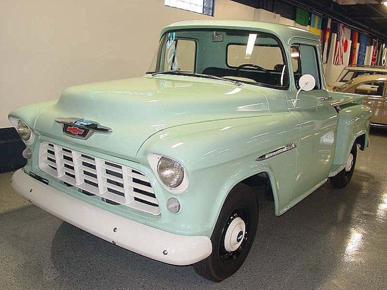 1955 Chevrolet 3100 For Sale 1857818 Chevrolet 3100 57 Chevy Trucks Chevrolet