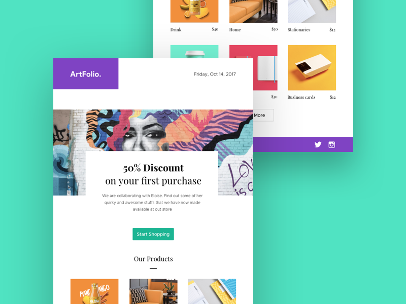 Newsletter Template Free Sketch Resource For Download