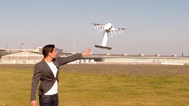 These Drones With Little Brooms Keep Solar Panels Clean Drone Images Solar Solar Equipment