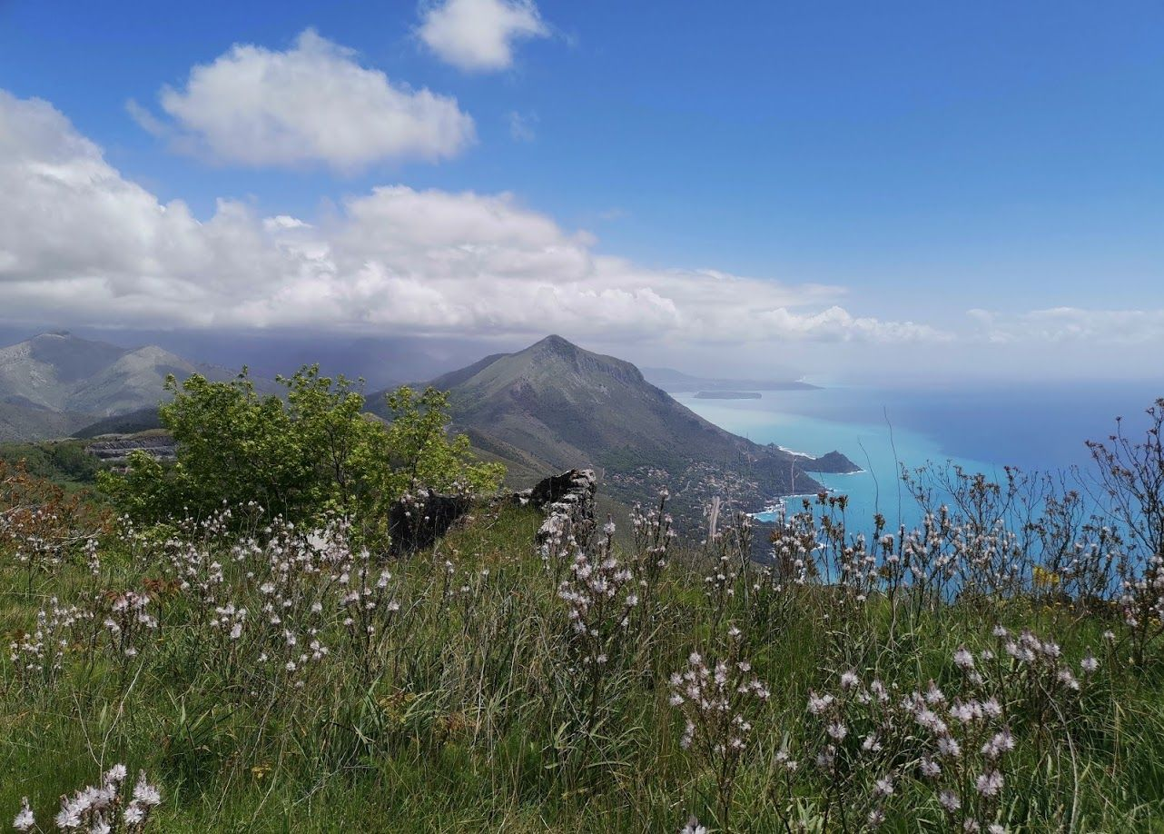Monte San Biagio Maratea Гора Сан Бьяджо к одному из