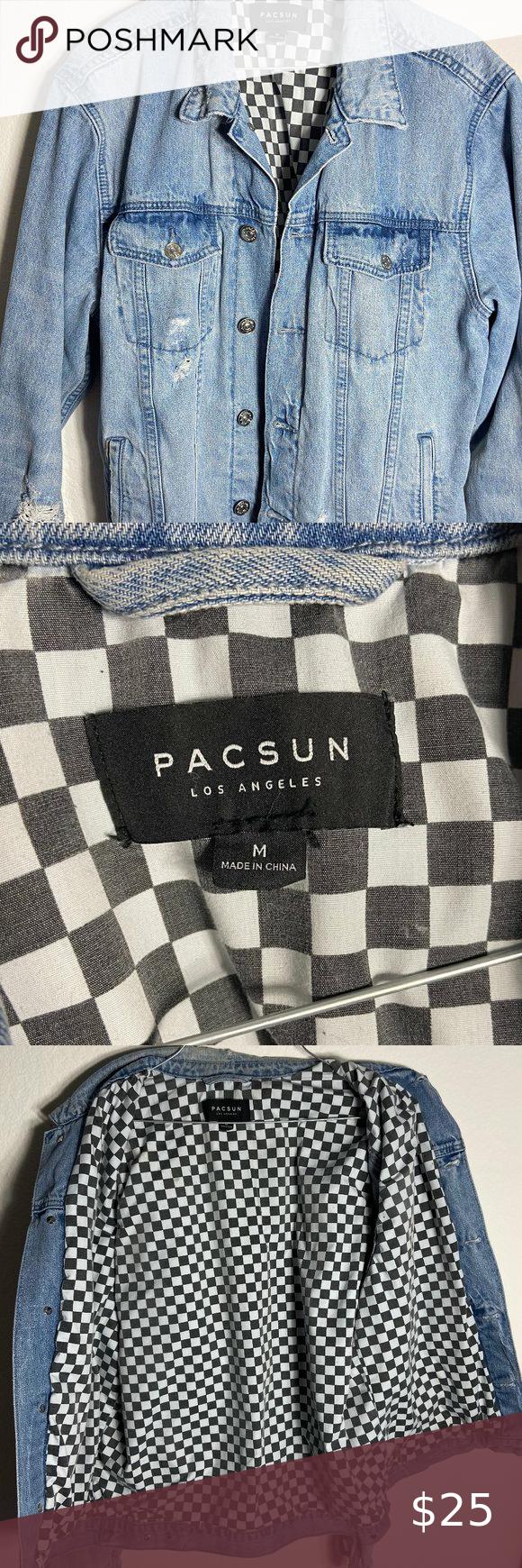 Pacsun Distressed Denim Jacket Distressed Denim Jacket Distressed Denim Denim Jacket [ 1740 x 580 Pixel ]