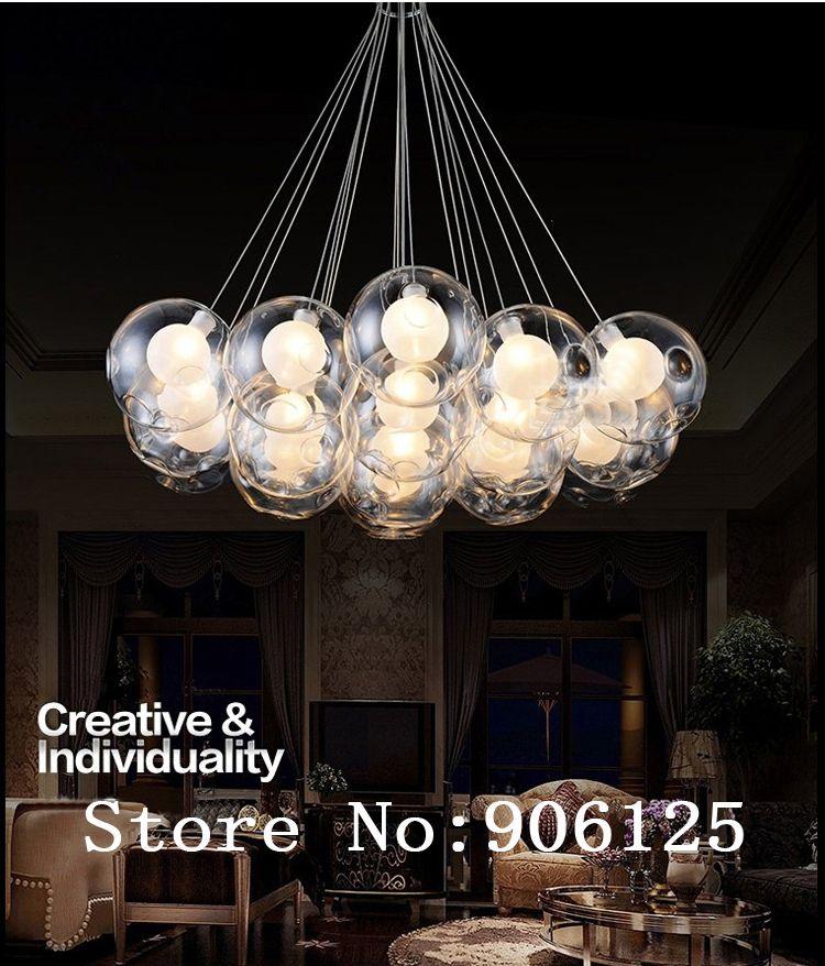 Bubble Light Chandelier Home Premade Lights Statement Lighting