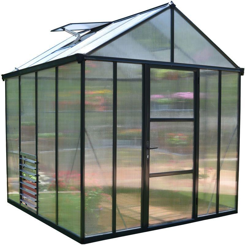 Serre De Jardin Garden Planning Greenhouse Gardening Irrigation