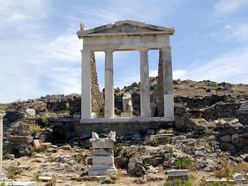 Ancient Delos, Greece