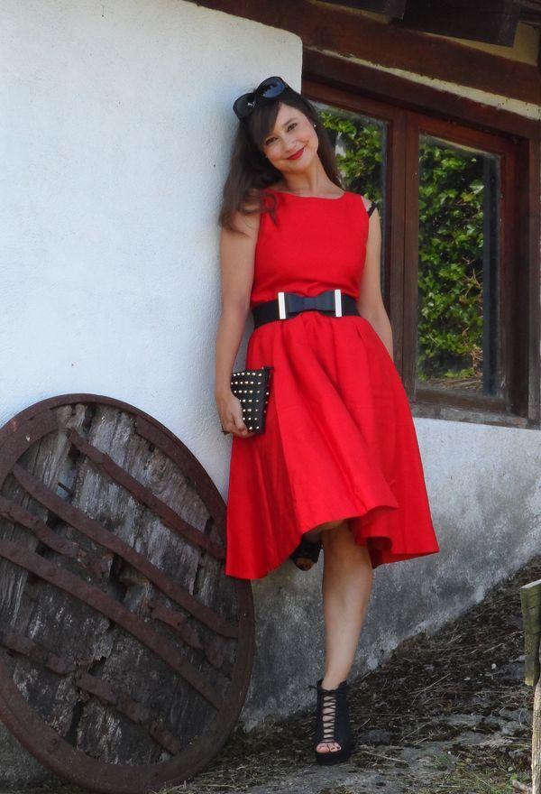 Maravillosos vestidos de moda color rojo | Vestidos 2016