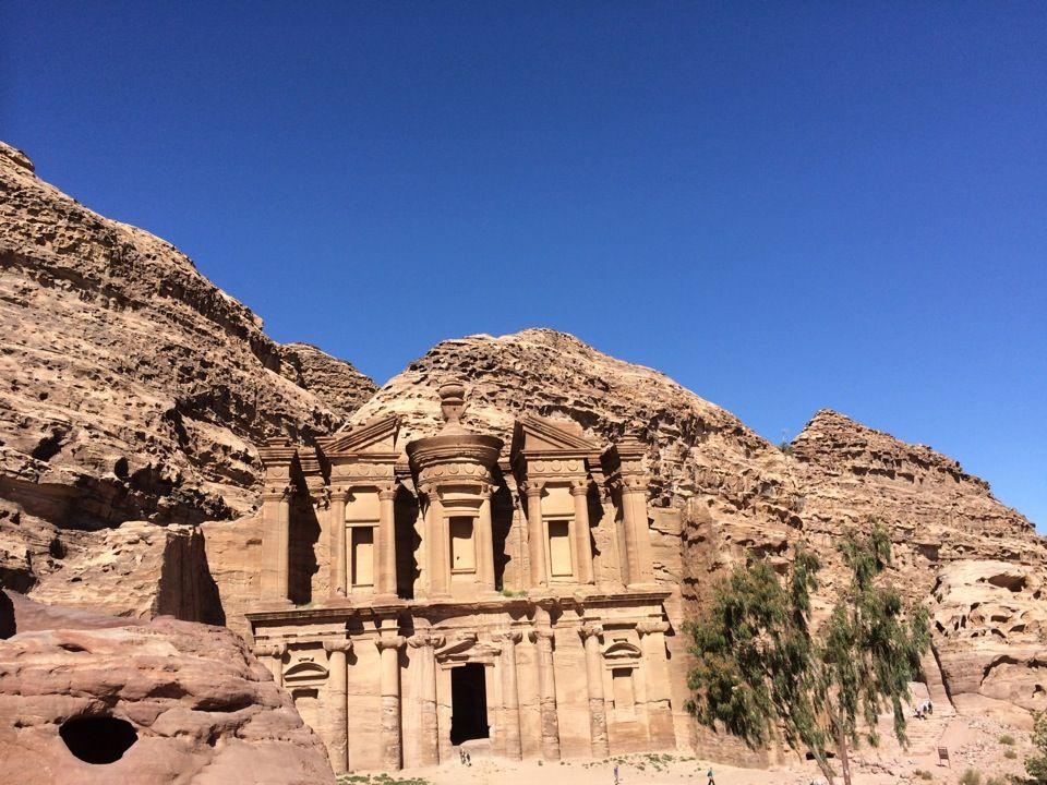 The Monastery الدّير in Wadi Musa, マアーン