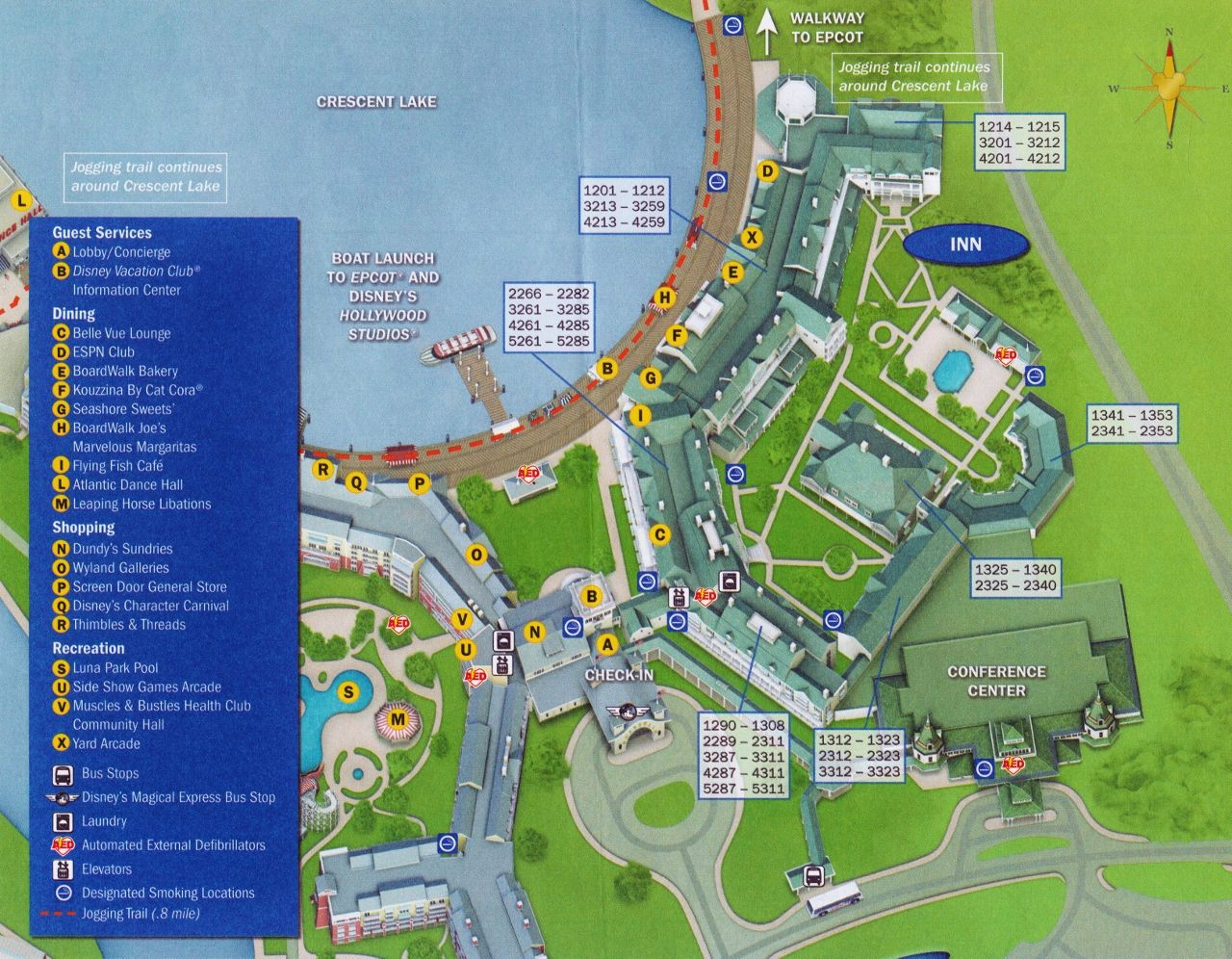 Accommodations and Theming at Disney\'s BoardWalk Inn ...