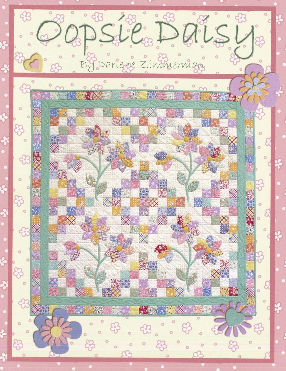 Oopsie daisy quilt pattern from needlings inc new u cad