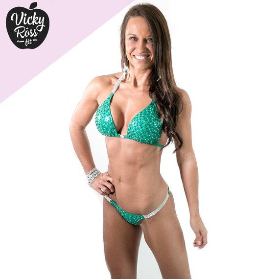 4b6c3fe46f4fd Pro Competition Bikini Suit by Vicky Ross Fit