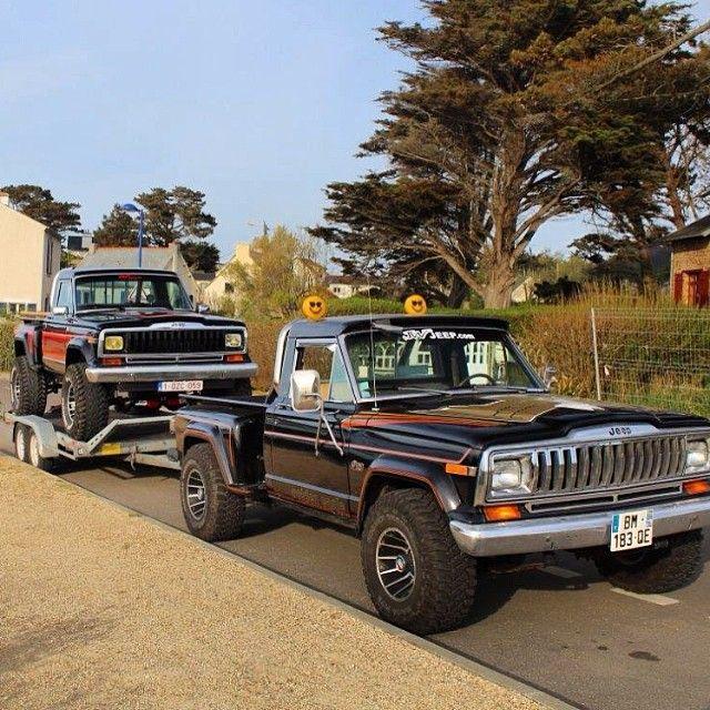 1982 Jeep J10 Stepside Honcho No Roads Needed T