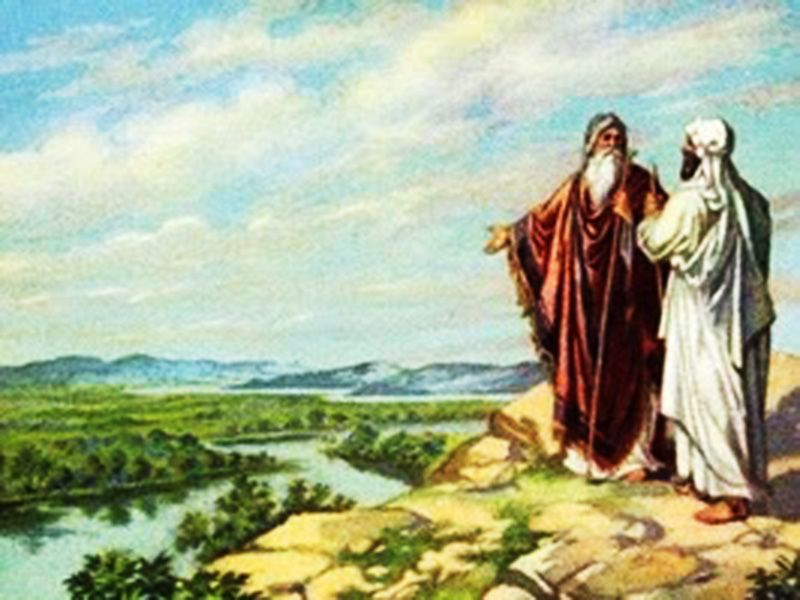Image result for paintings of abraham and lot