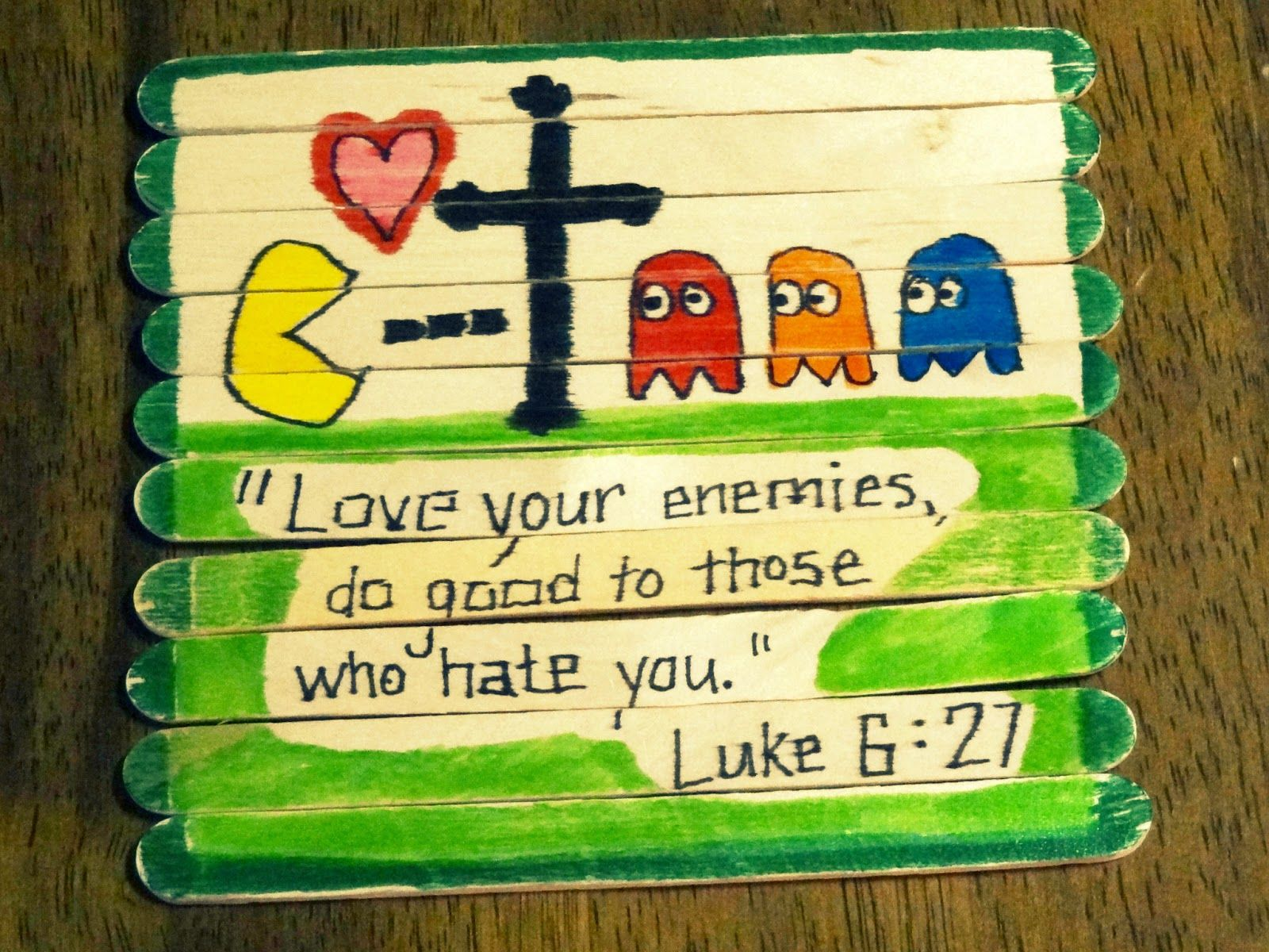 Love Your Enemies Lunch Bunch Crafts Kids Sunday School Lessons