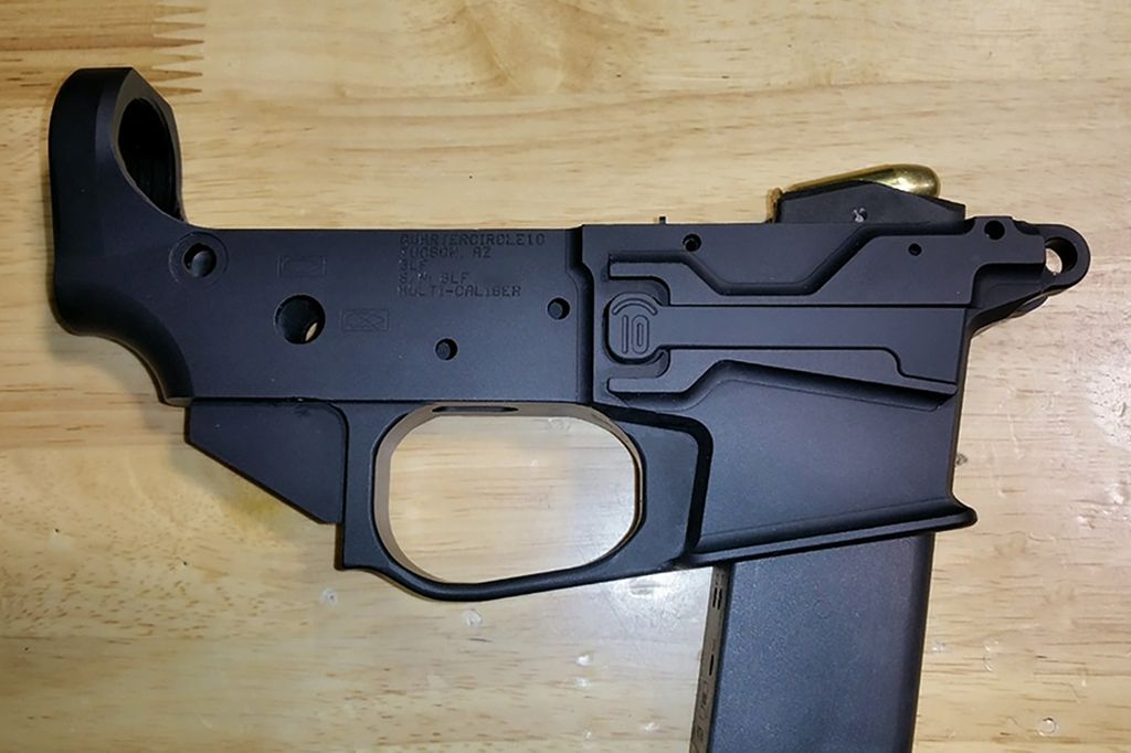 This is our Glock Large Frame model  The GLF is the same great lower