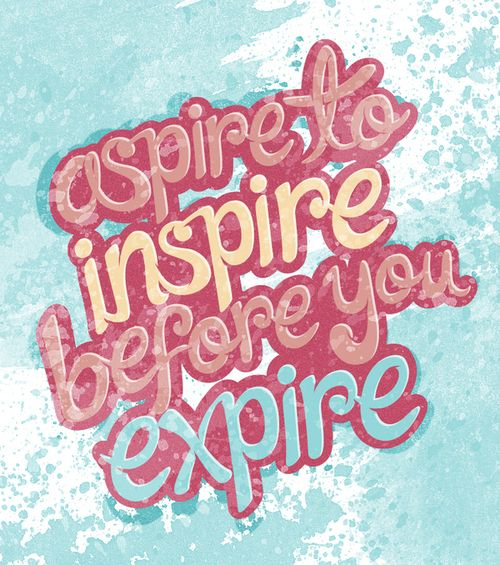 I love this, and I aim to do so with my blog Inspire Bohemia!