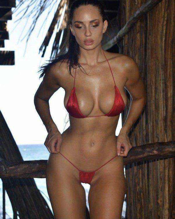 DeliciousChicas En Y De Locas Trajes Rojo BikiniBikini QEdCreWoxB