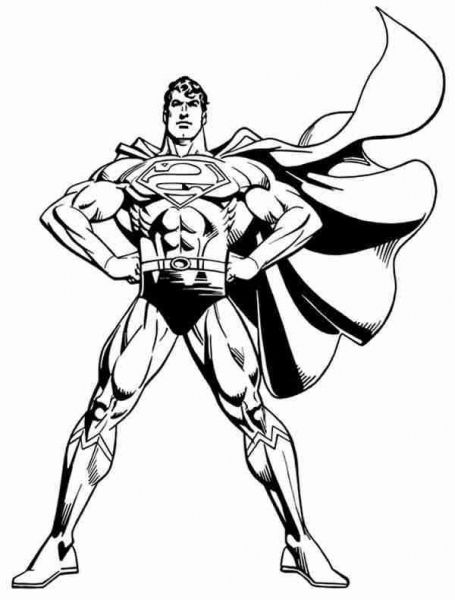 The Best man of steel coloring pages - http://coloring.alifiah.biz ...