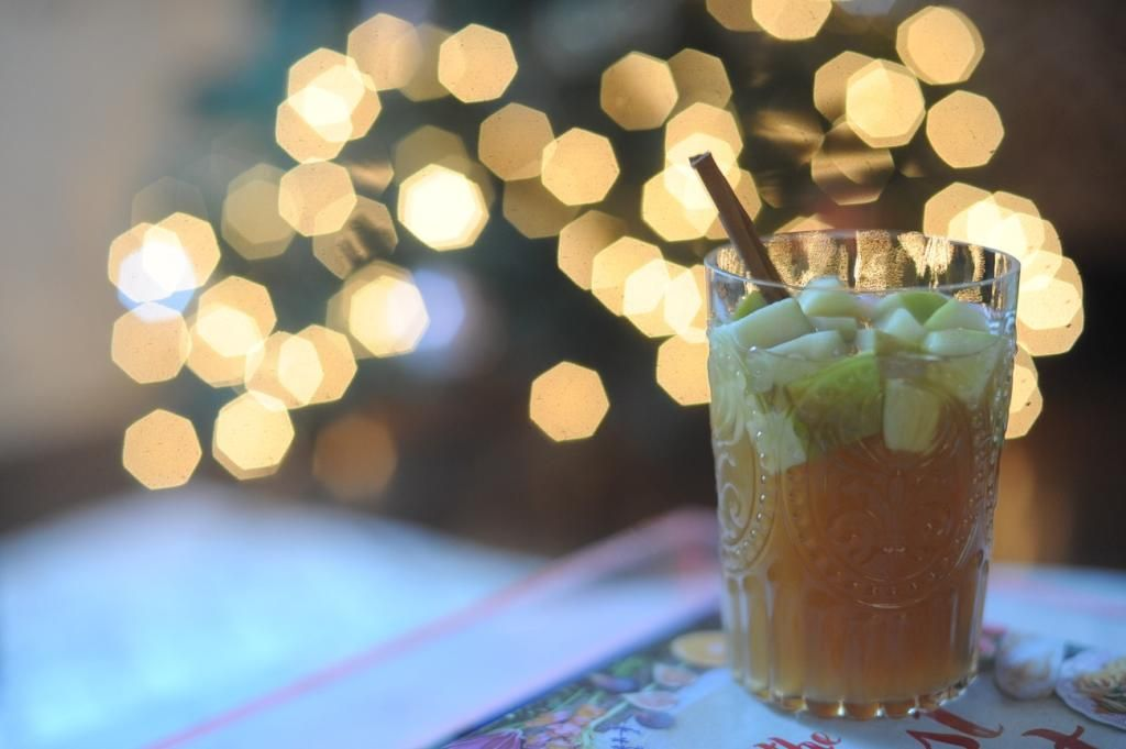 Seasonal Cocktail.