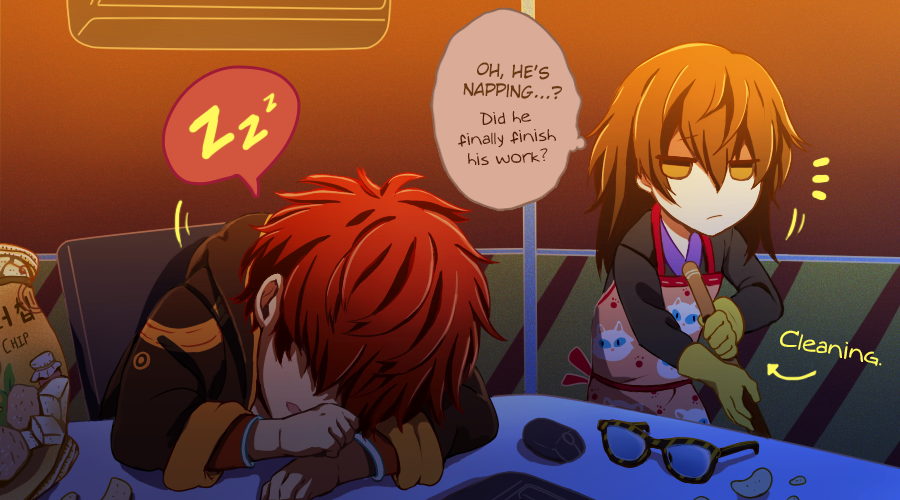… Vanderwood's probably not going to pay him back for that broken broom. (1/5)