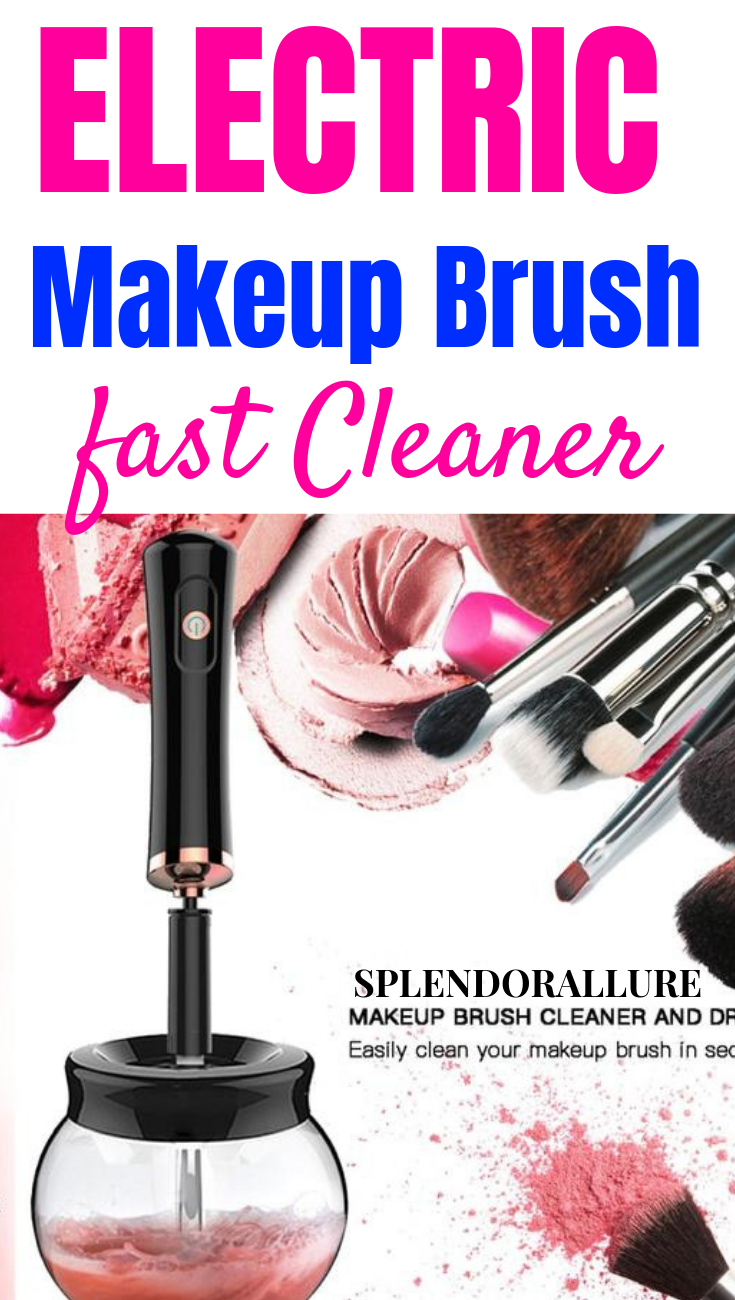 SPLENDOR ALLURE™ BRUSH CLEANER How to wash makeup