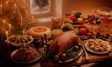 christmas feast table | Christmas Dinner in Bangkok