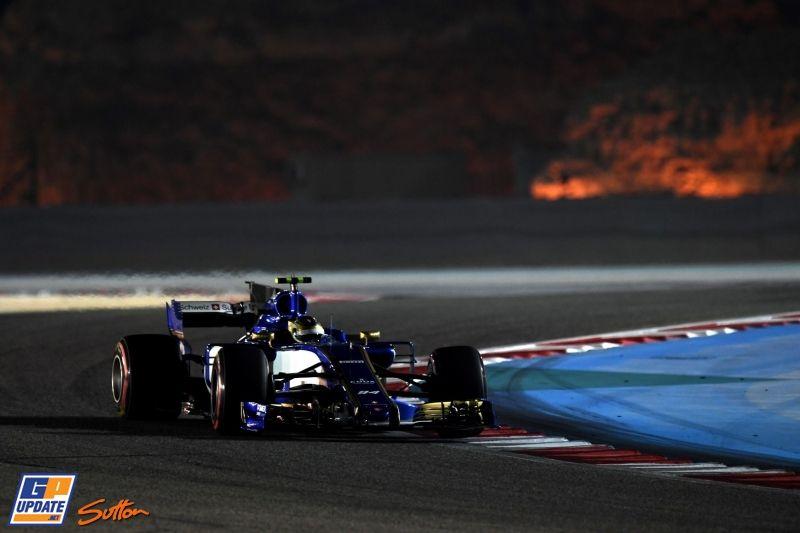 Pascal Wehrlein, Sauber, Formule 1 Grand Prix van Bahrein 2017, Formule 1