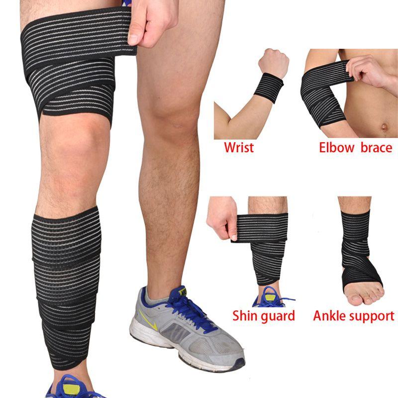 Multifunctional Elastic Bandage Wrap Leg Training Elbow