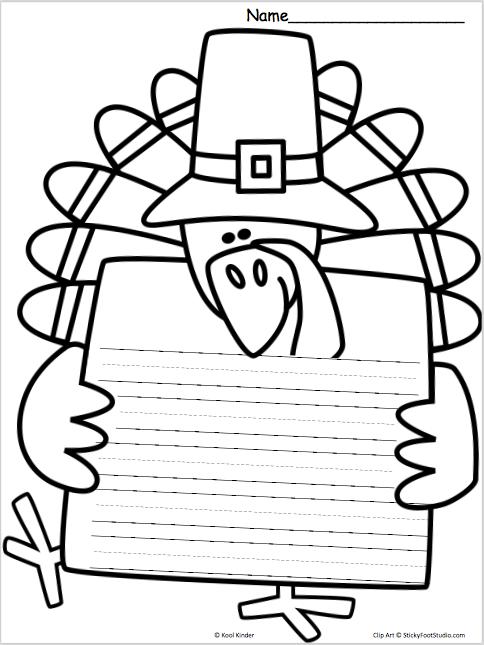 Turkey writing template teacher ideas pinterest template turkey writing template pronofoot35fo Image collections