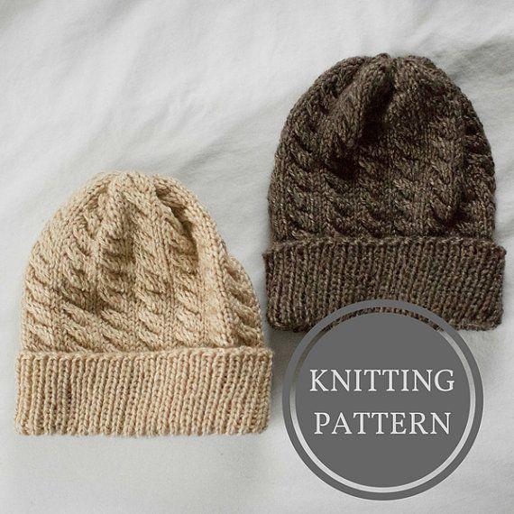 38cda0c3728a Olympic Beanie Knitting Pattern | Hat Knitting Pattern | Knitted Hat ...