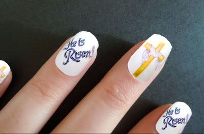 Archyteckie08 S Image Easter Nails Cross Nails Easter Nail Designs