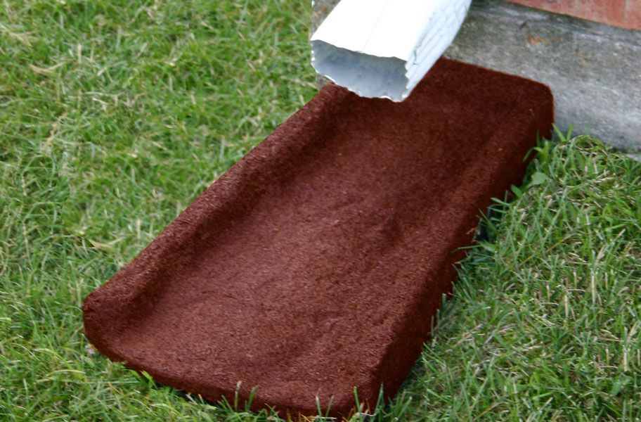 Rubber Splash Blocks Rubber mulch, Outdoor rubber mats