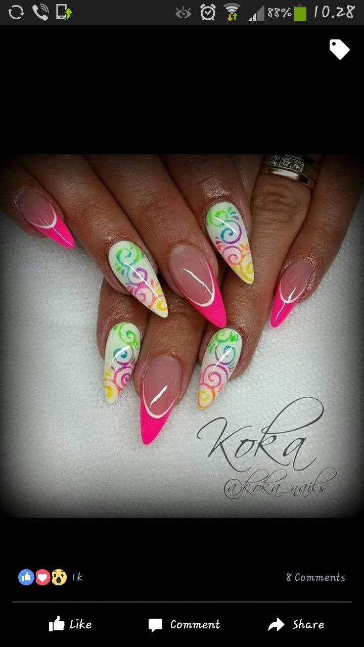 Pin by Wendy Escobedo on uñas | Pinterest | Manicure, Nail color ...