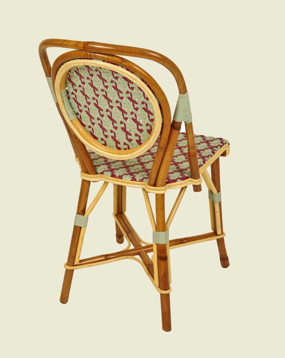 chaise parisienne vert d eau fuchsia dos chaises en 2019. Black Bedroom Furniture Sets. Home Design Ideas
