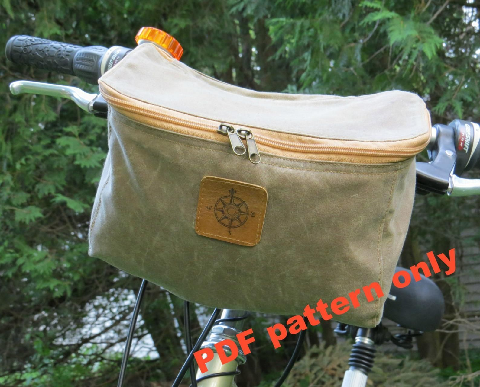 Good No Cost Sewing Pattern Bicycle Bag Pattern Pdf Pattern Handlebar Bag Pattern Bike Bag Pa Bicycle Bag Pattern Handlebar Bag Pattern Bag Patterns To Sew