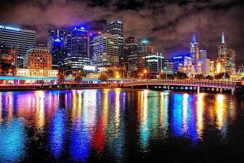 Melbourne Nights Of Colour Australia Melbourne Melbourne Australia