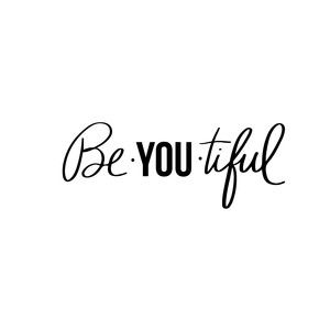 Silhouette Design Store: Be-you-tiful