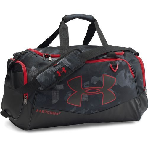 966e19124c19 Under Armour Undeniable II Duffel Bag Black White - Athletic Sport Bags at  Academy Sports